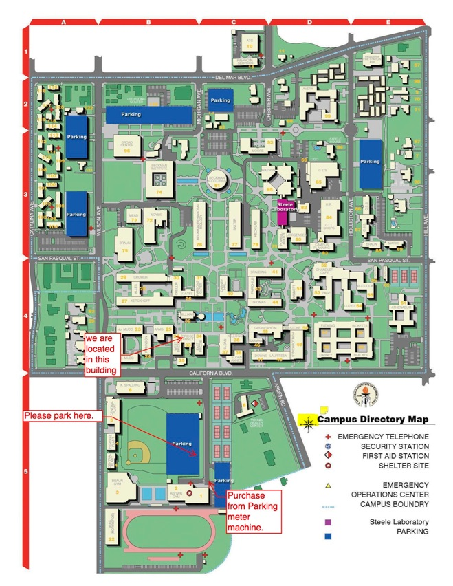 Cal Tech Campus Map.Nems Information Engines Networks 2
